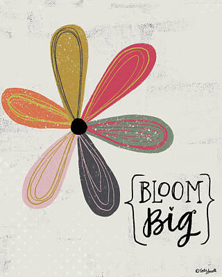 Wall Art - Painting - Bloom Big by Katie Doucette