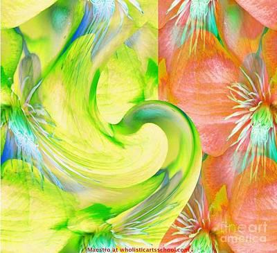 Bloom Dance  Art Print