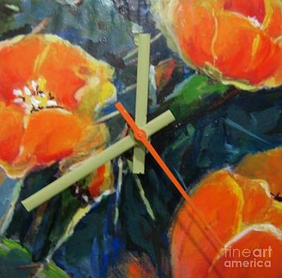 Painting - Bloomin Cactus by Vicki Brevell