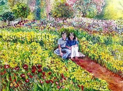 Painting - Blooming by Aditi Bhatt