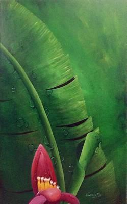 Painting - Blooming Banana by Owen Lafon