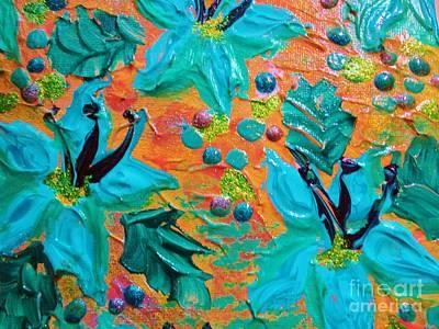 Julia Child Painting - Blooming Beautiful 2 by Julia Di Sano