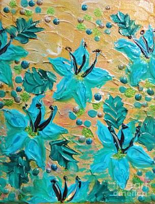Julia Child Painting - Blooming Beautiful by Julia Di Sano