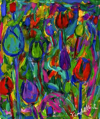 Painting - Blooming Color by Kendall Kessler