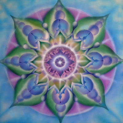 Blooming Art Print by Elizabeth Zaikowski