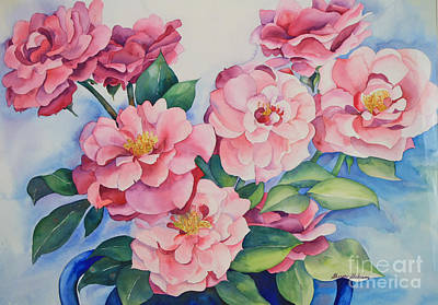 Painting - Blooming Grace by Shirin Shahram Badie