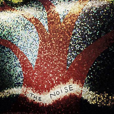 Nyc Subway Mosaic Photograph - Blooming by Natasha Marco