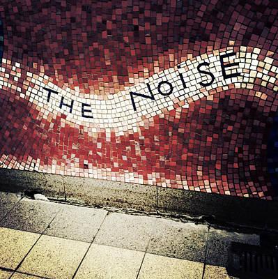 Nyc Subway Mosaic Photograph - Blooming - The Noise by Natasha Marco