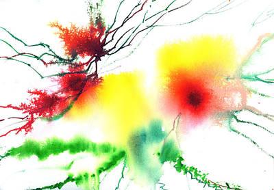 Blooms 3 Art Print by Anil Nene