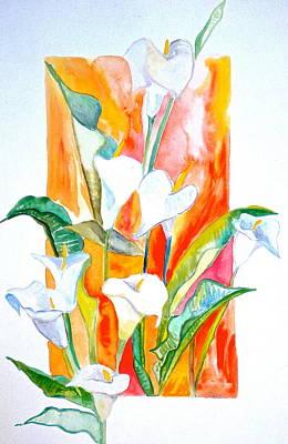 Blooms Beyond Borders Art Print by Debi Starr