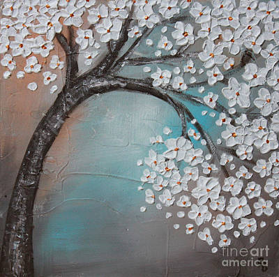 Painting - Blossom Cherry by Home Art