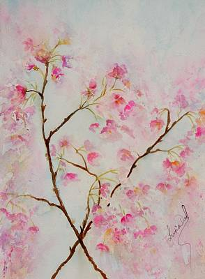 Watercolor Painting - Blossom by Lucia Del