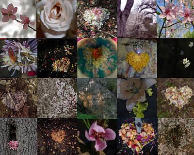 Blossom Rain I Art Print by Georg Kickinger