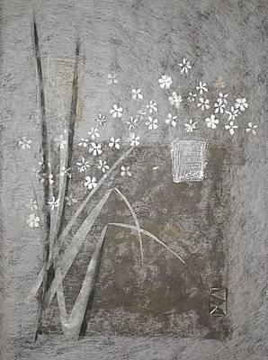 Blossom Reed Left Original by K Mrachek