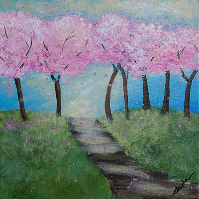 Blossoming Art Print by Sasha Moye