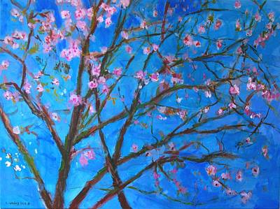 Painting - Blossoms 1 by Edward Ching
