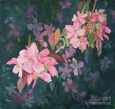 Painting - Blossoms For Sally by Lynn Quinn