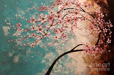 Cherry Blossoms Painting - Blossoms by Tomoko Koyama