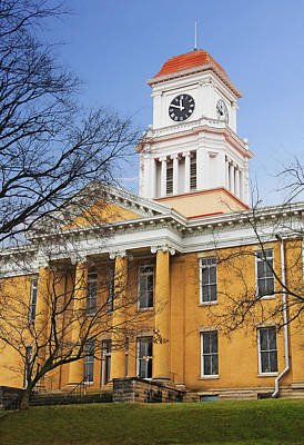 Blount County Courthouse Art Print by Melinda Fawver