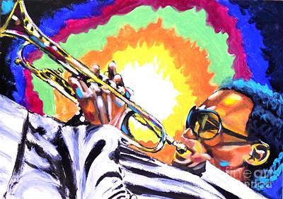 Blow Art Print by Jonathan Tyson