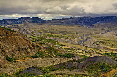 504 Photograph - Blow Out Area Near Mt. Saint Helens Washington 2 by SC Heffner