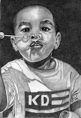 Blow Art Print