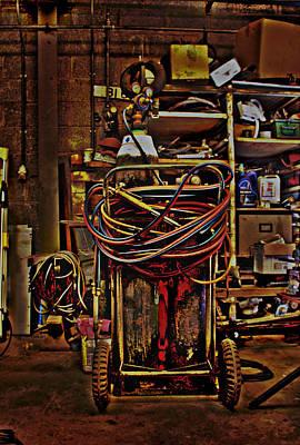 Brass Brazing Photograph - Blow Torch by Tony Reddington