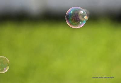 Photograph - Blowing Bubbles by Nance Larson