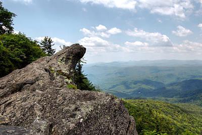 Blowing Rock Nc Photograph - Blowing Rock North Carolina - C0606 by Paul Lyndon Phillips