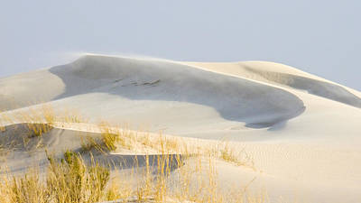 Photograph - Blowing Desert Sands by Allen Sheffield