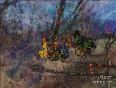 Blowin'in The Wind Art Print by Kathie Chicoine