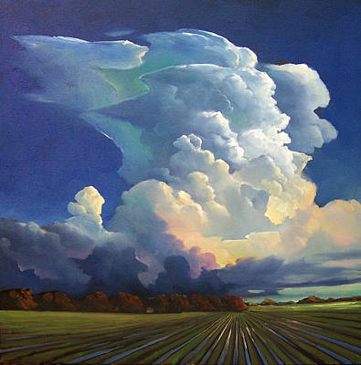 Artists And Artisans Painting - Blown Away by William Hawkins