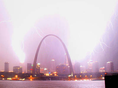 Photograph - Blowout Over St Louis by Garry McMichael