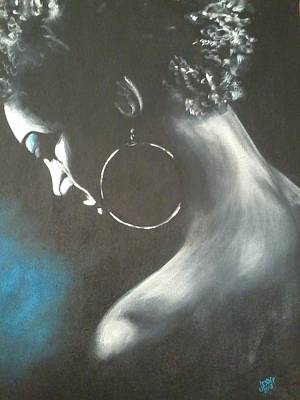 Painting - Blu Steele by Jenny Pickens