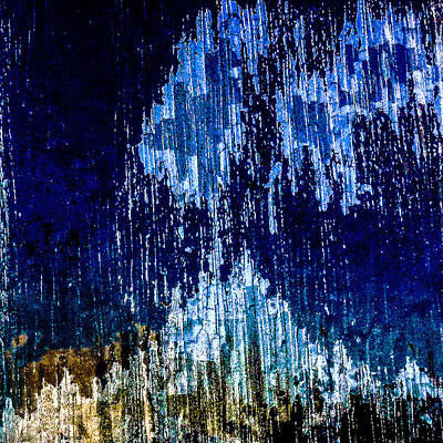 Abstract Wall Art - Photograph - Blu Window by Jason Michael Roust
