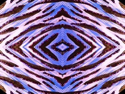 Blue 42 Art Print by Drew Goehring
