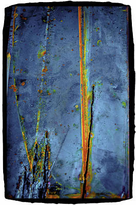 Art Print featuring the photograph Blue Abstract Seven by Craig Perry-Ollila