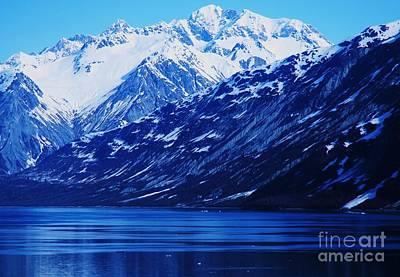Blue Alaska Print by Marcus Dagan