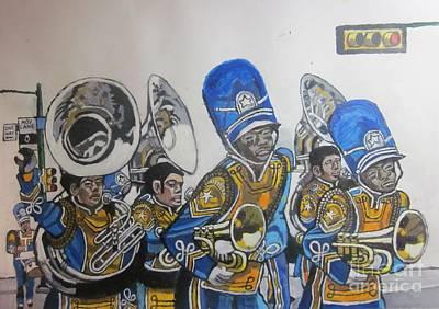 Blue And Gold Band Original