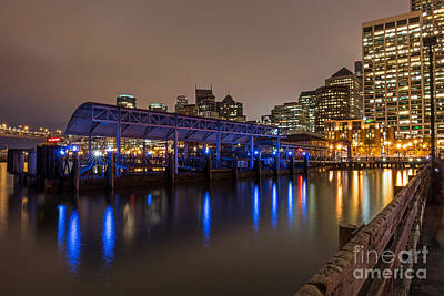 Photograph - Blue And Gold Night by Kate Brown