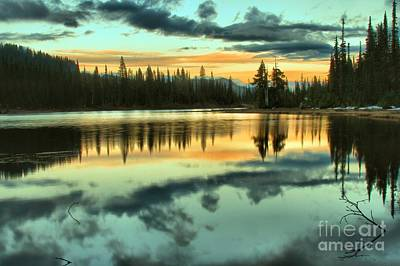 Photograph - Blue And Orange Reflections by Adam Jewell