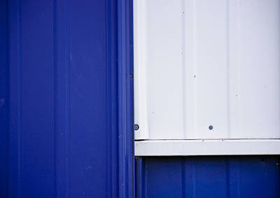 Photograph - Blue And White by Christi Kraft