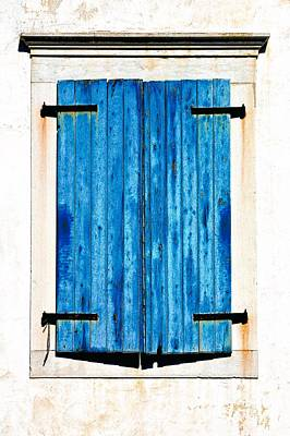 Photograph - Blue And White Window by Kate McKenna