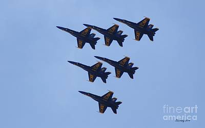 Photograph - Blue Angel Squadron by Susan Stevens Crosby