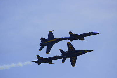 Photograph - Blue Angels 10 by Laurie Perry