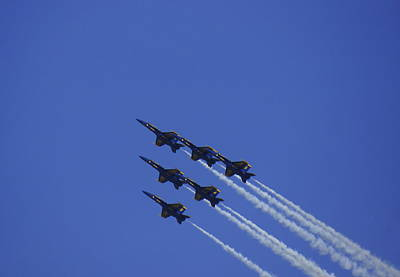 Photograph - Blue Angels 12 by Laurie Perry