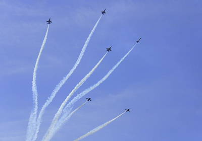 Photograph - Blue Angels 13 by Laurie Perry