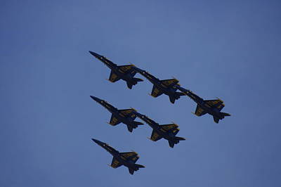 Photograph - Blue Angels 14 by Laurie Perry
