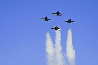 Photograph - Blue Angels 2 by Sherri Meyer