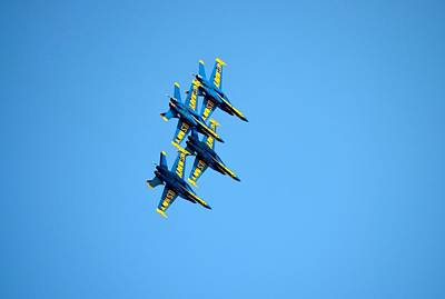 Blue Angels Photograph - Blue Angels 6 by Richard Bryce and Family